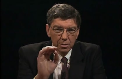 Clay Christensen on Charlie Rose
